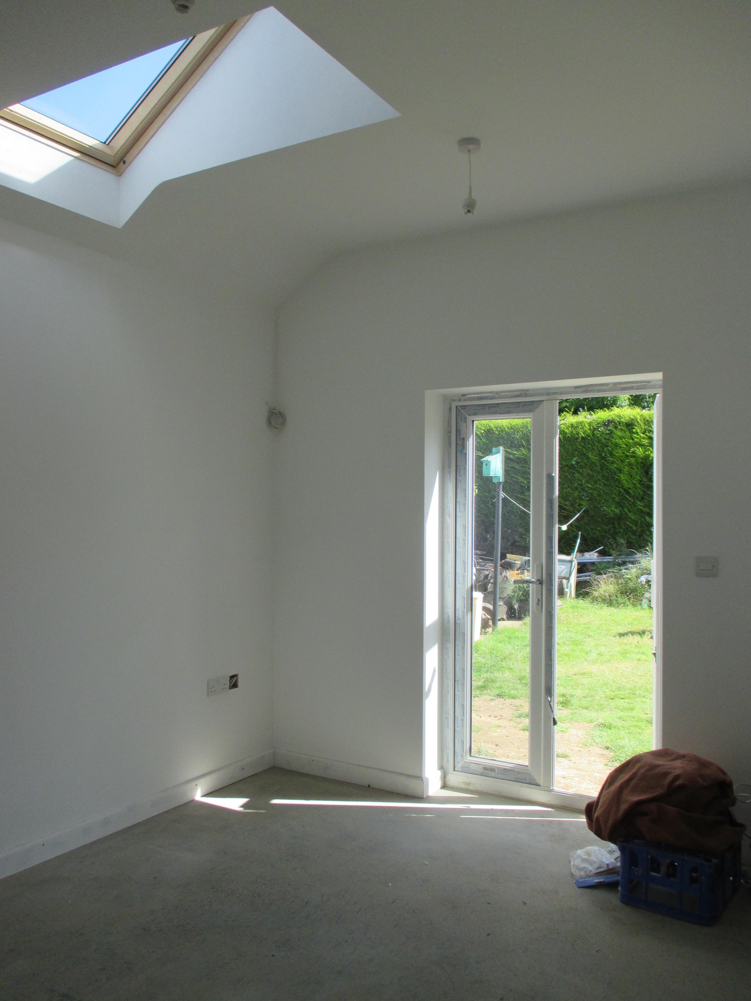 Conversion in Progress - New Rear Bedroom / Study