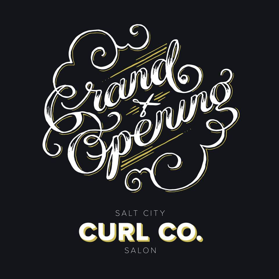 Salt City Curl Co. Grand Opening