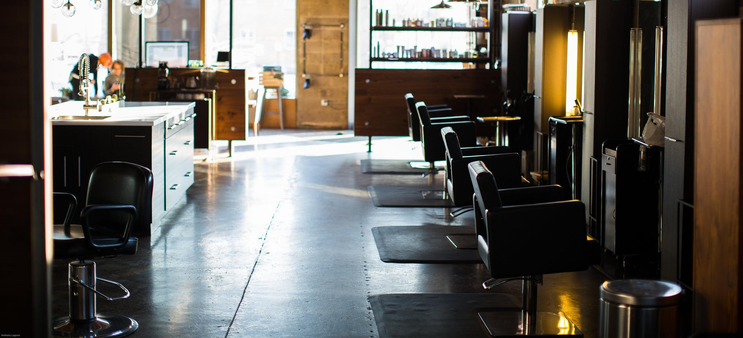 modern salon slc