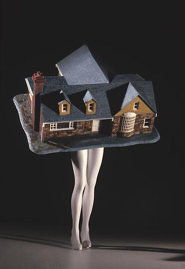Walking House (Color), 1989
