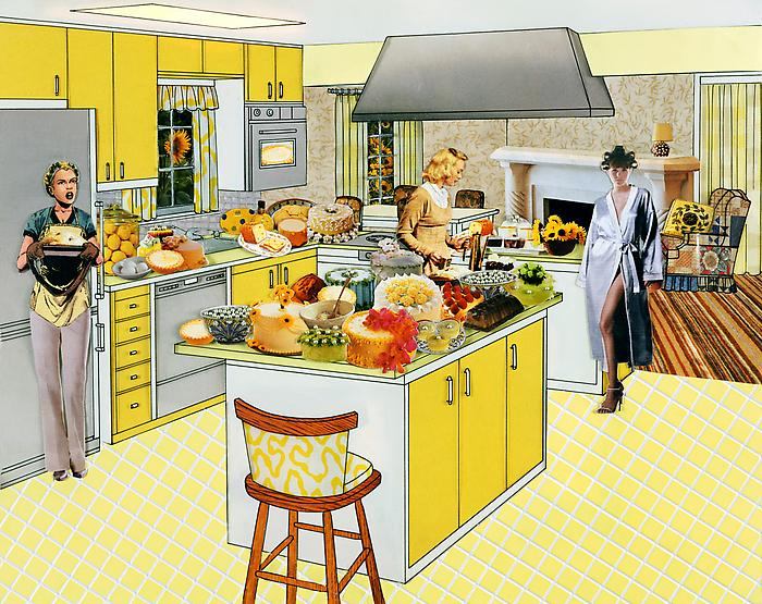 The Instant Decorator (Yellow Kitchen), 2003