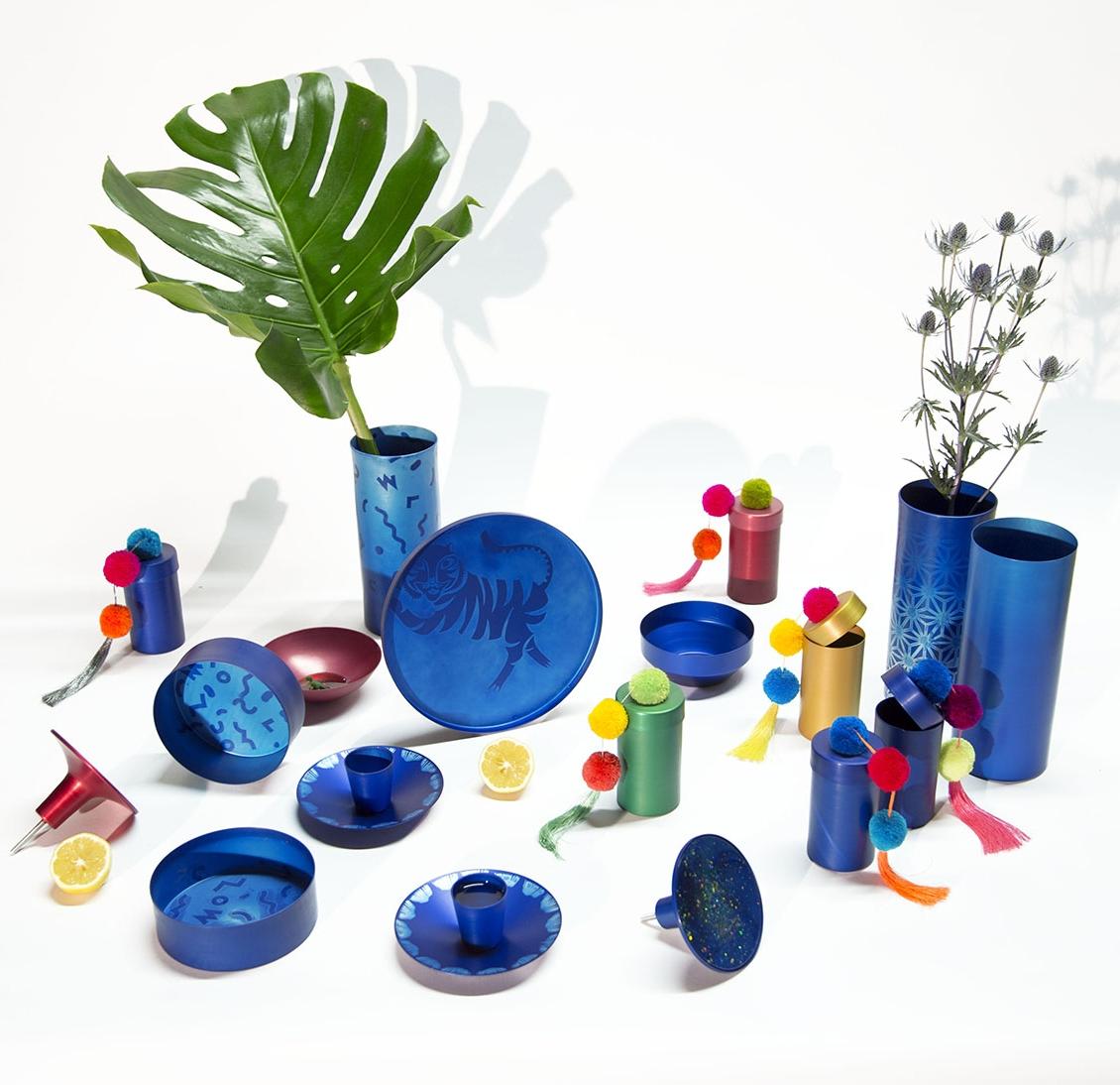 Anodized aluminum accesories