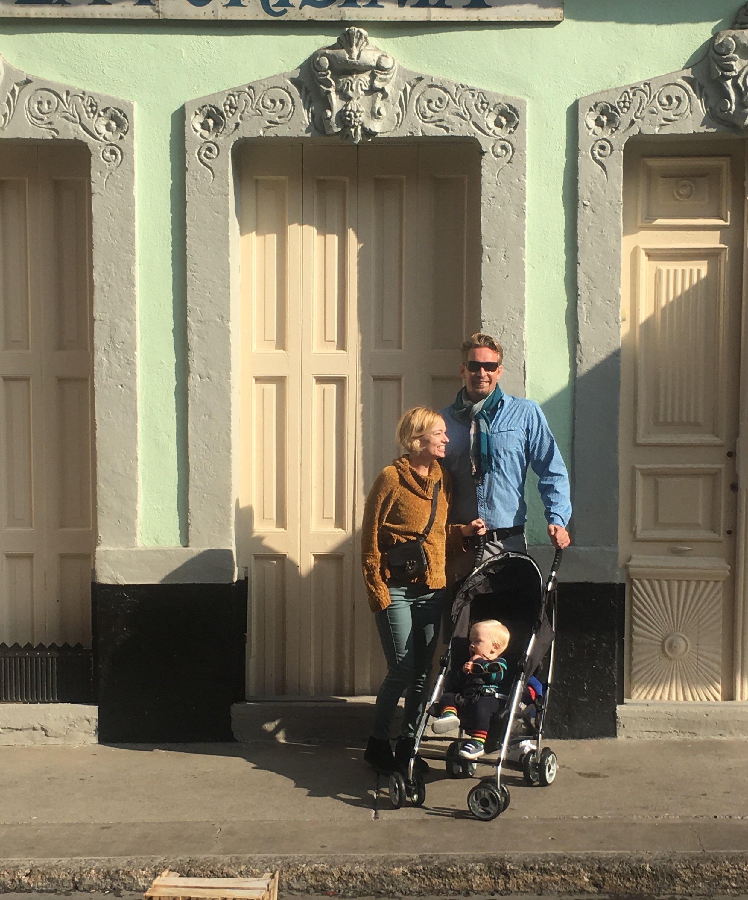 Annie, Tyler & baby Gabriel  - in Mexico City (2018)
