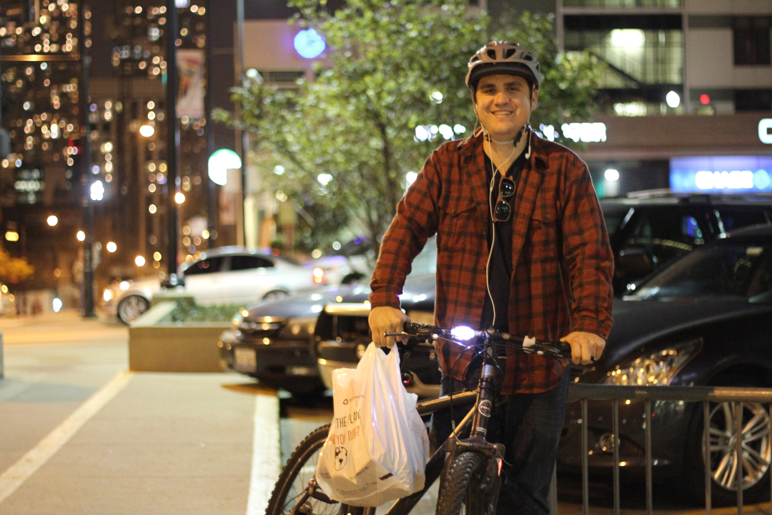 """""""Do I look like a cyclist!?"""" Addison"""