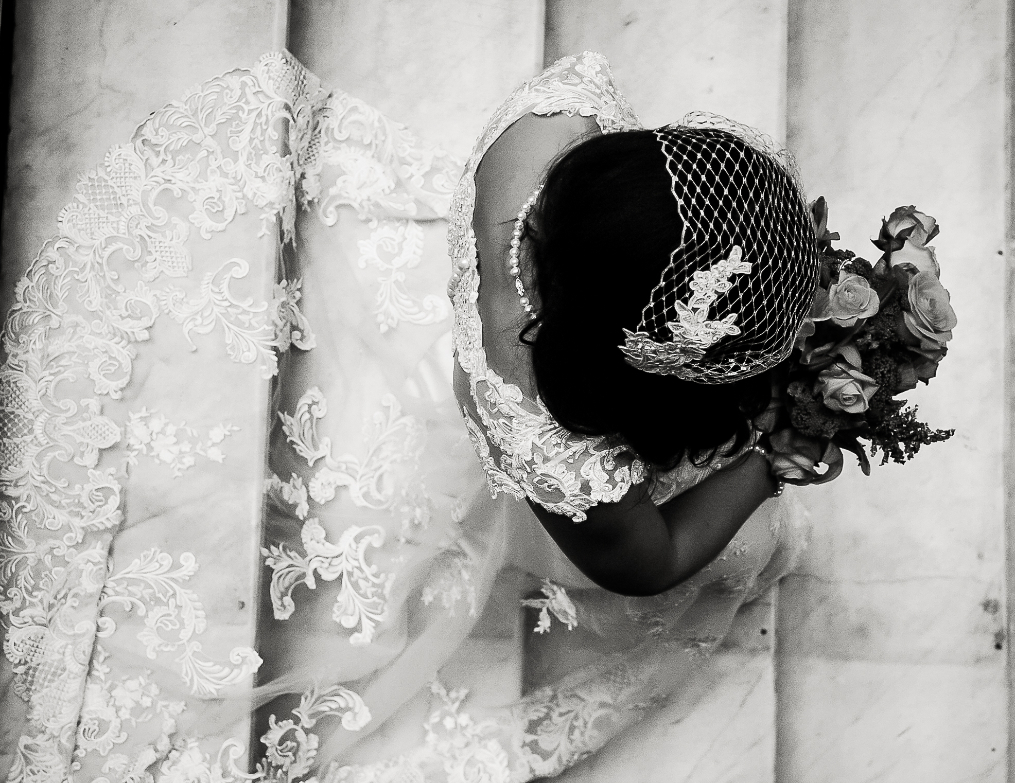A Bride's Moment