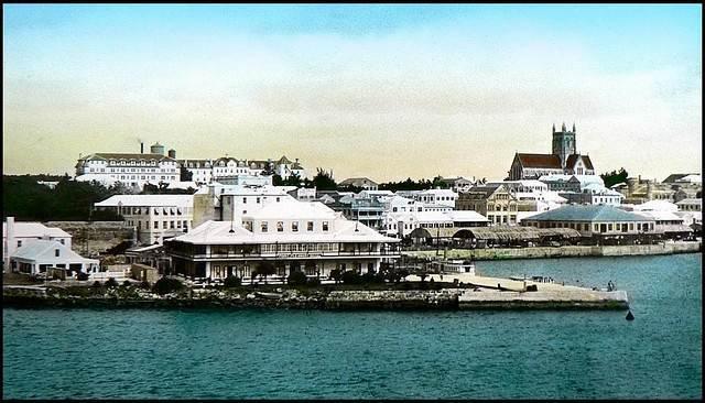 hamilton's waterfront in 1930s