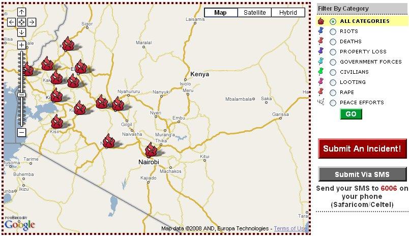Source: Ushahidi