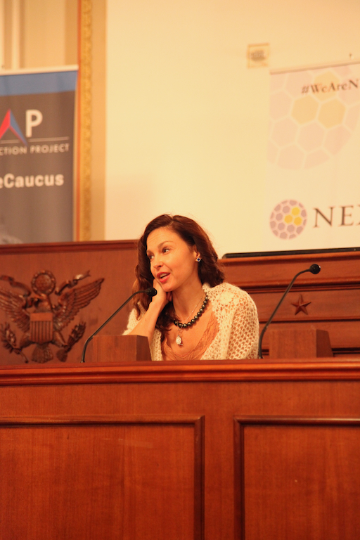 Actress Ashley Judd at the Closing Plenary of the Congressional Summit on Next Generation Leadership.