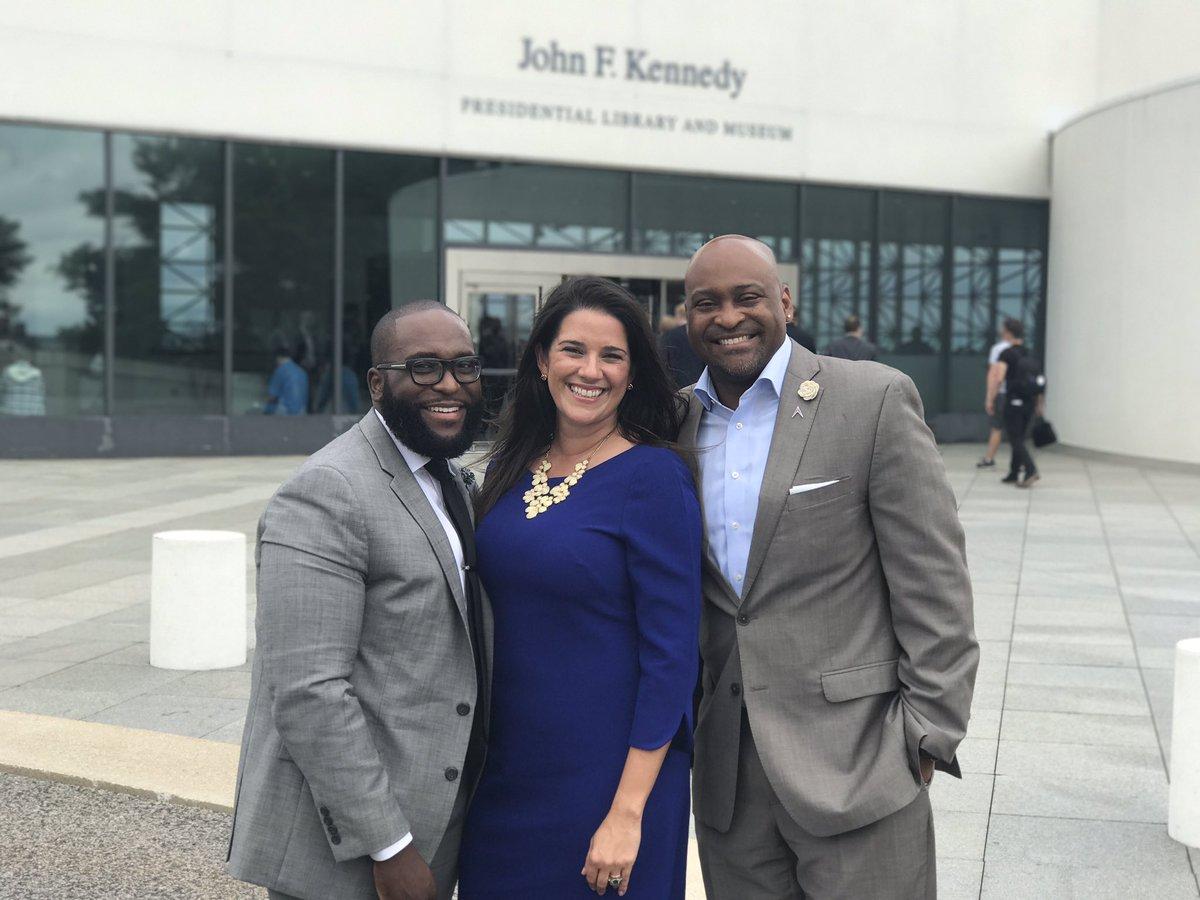 Rep. Shevrin Jones, Sen. Anitere Flores, and Sen. Oscar Braynon represented Florida at the Millennial Action Project's 2017 Future Summit in Boston. (Photo via Rep. Shevrin Jones' Twitter)