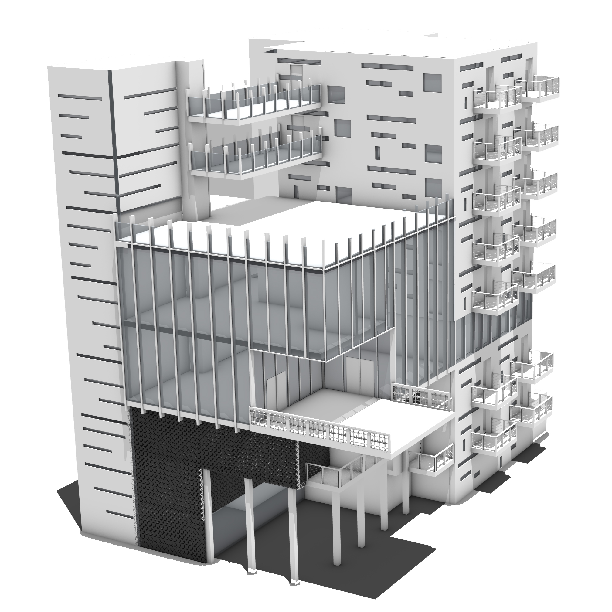 OUT OF SITE BUILDING RENDERING