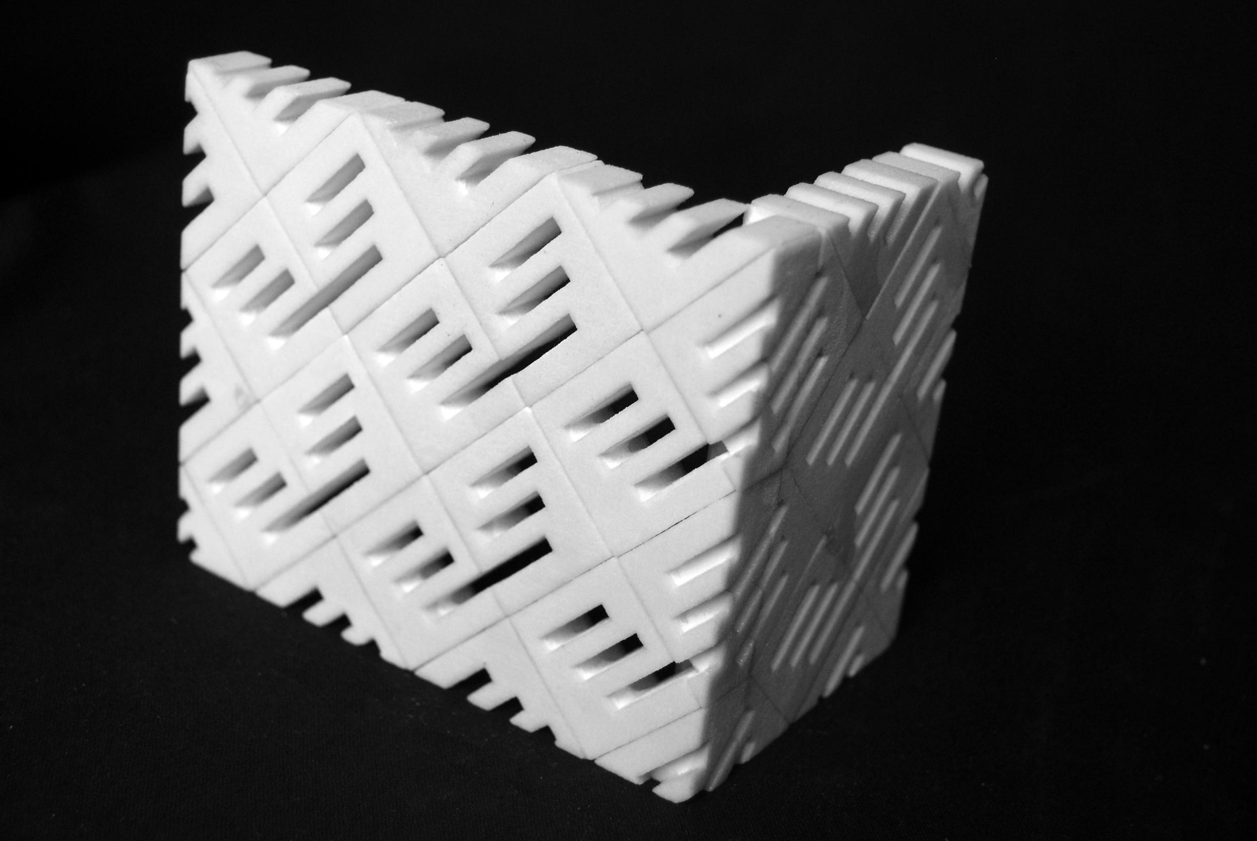CUSTOM CMU BLOCK DESIGN - 3D PRINTED