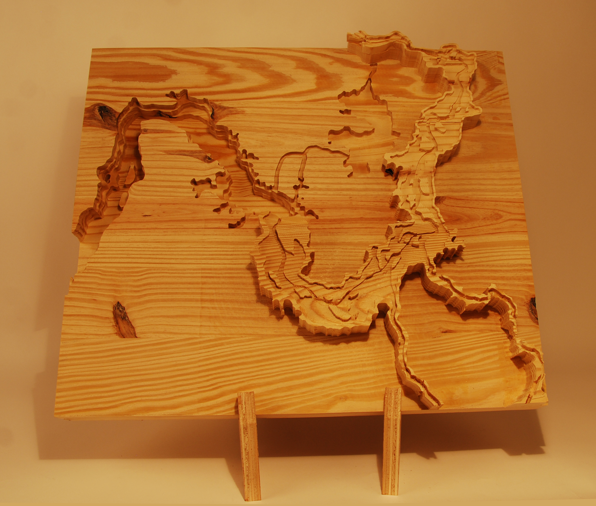 PHYSICAL CONCEPT AND SITE MODEL DEPICTING THE INVERSE EFFECTS OF FLOODING IN THE Z AXIS