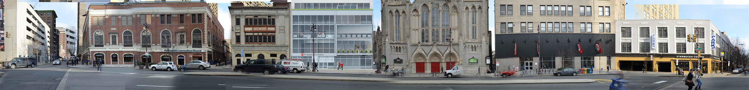 BROAD STREET SITE CONTEXT AND ELEVATION