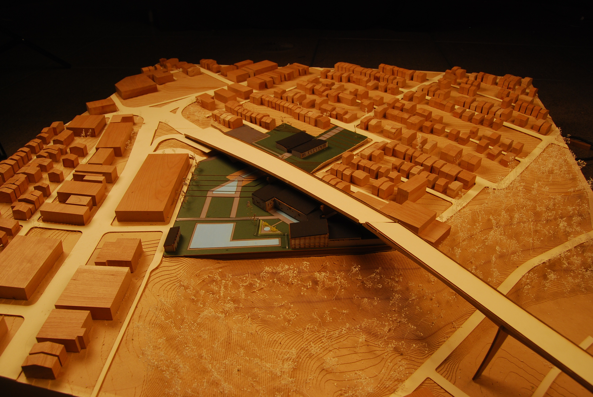 Final Site Model for Recreation Center in Bloomfield, PA