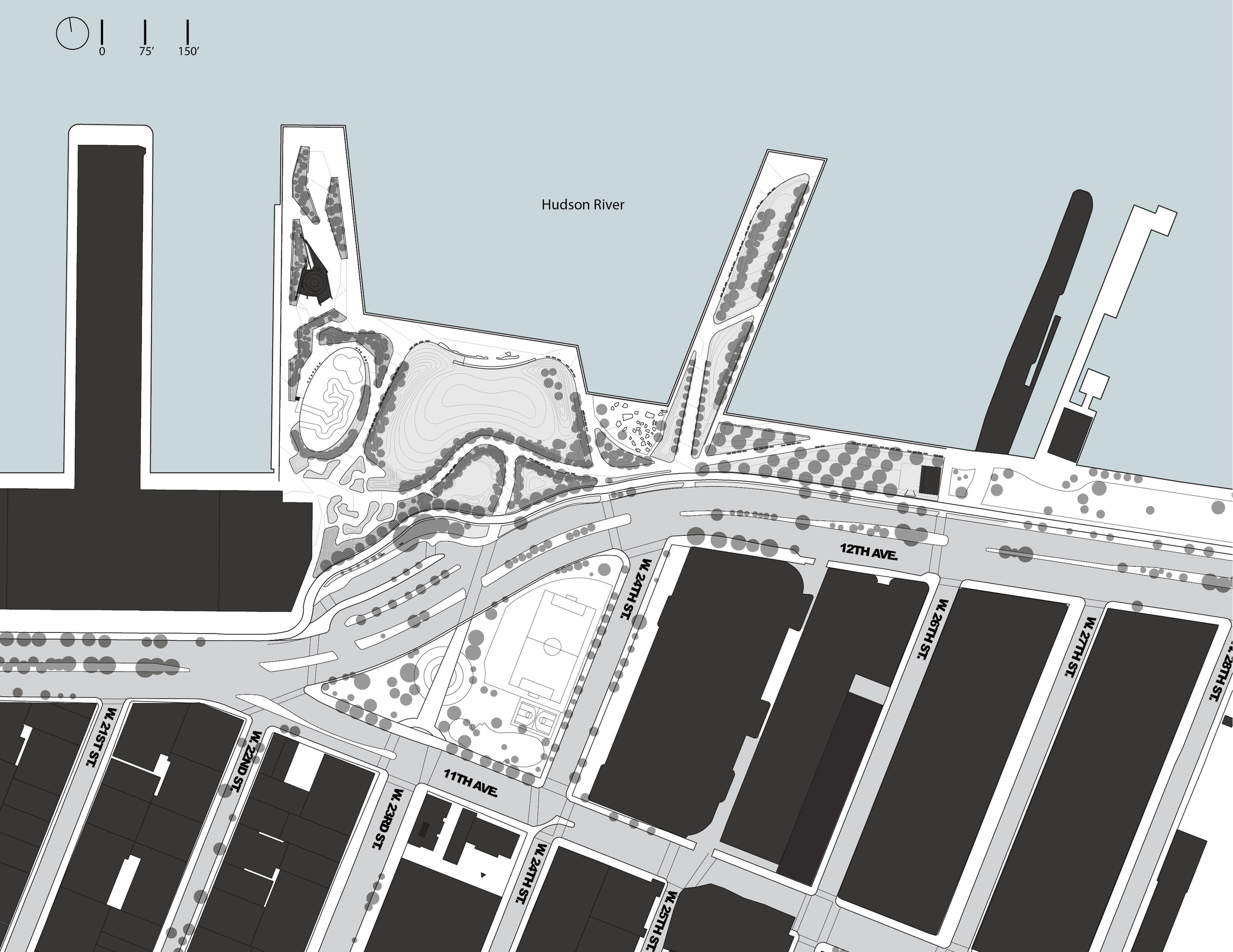 SITE PLAN AND SURROUNDING CONTEXT