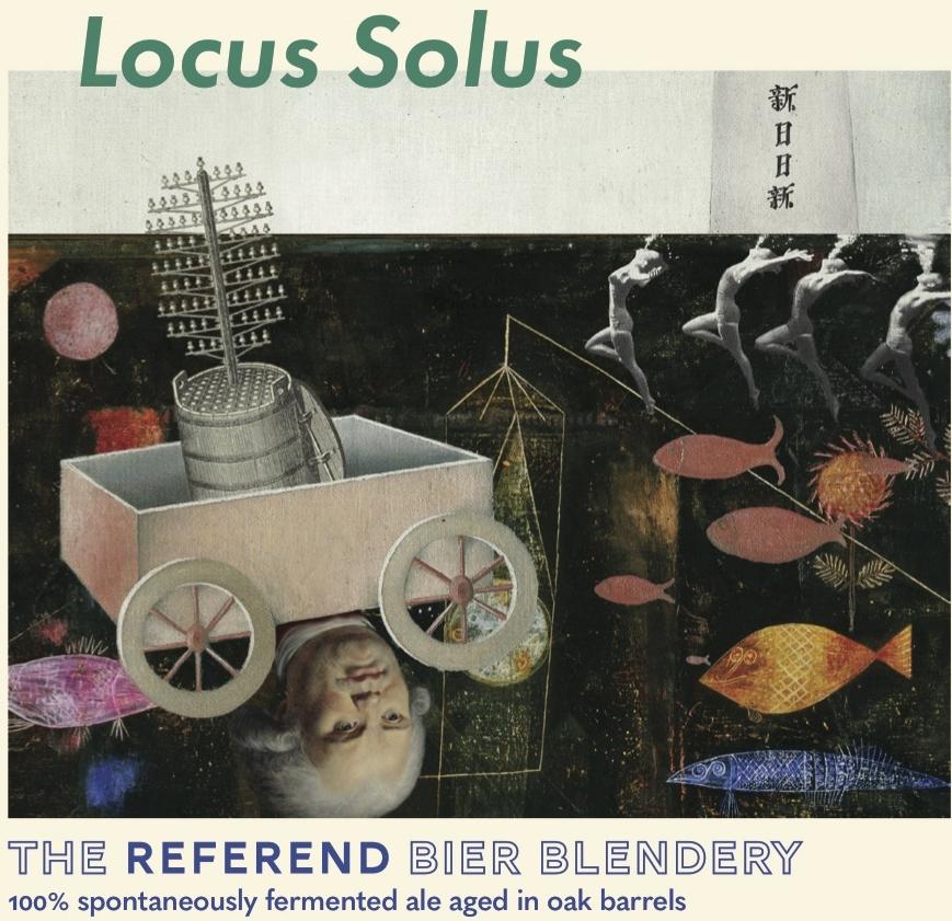 The Referend Bier Blendery | Blend Log: Locus Solus