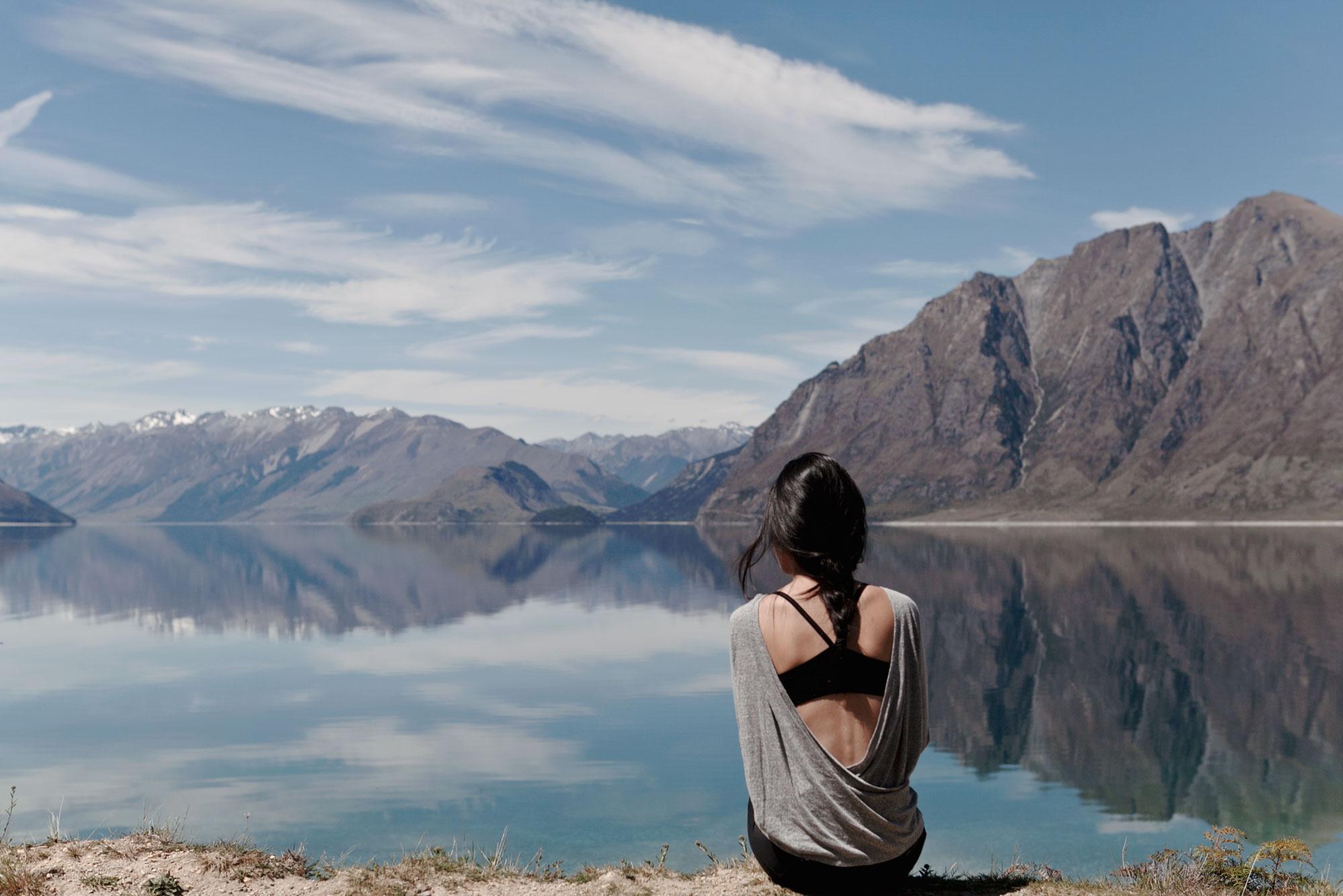 Lake Hawea, NZ, 2015. Photo by Kevin.