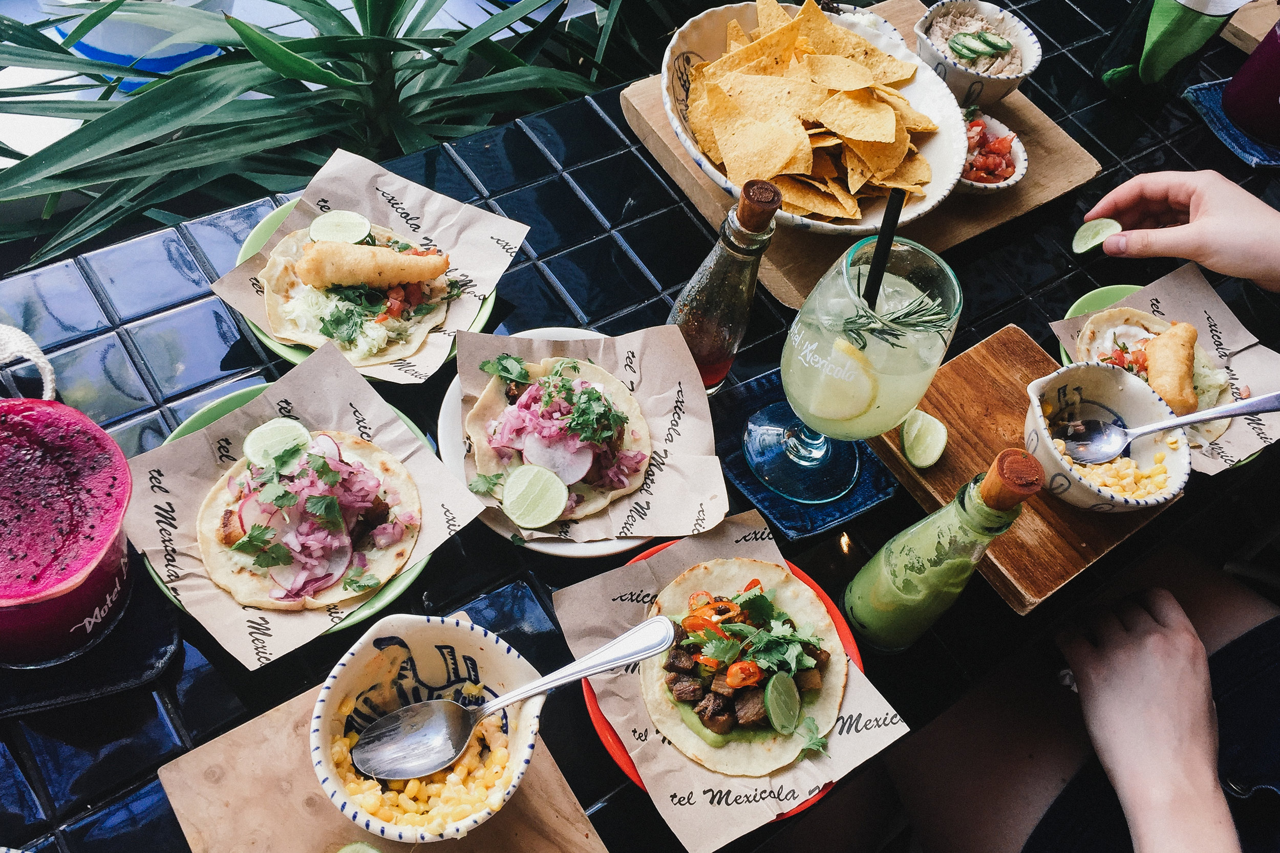 Tacos and margaritas!