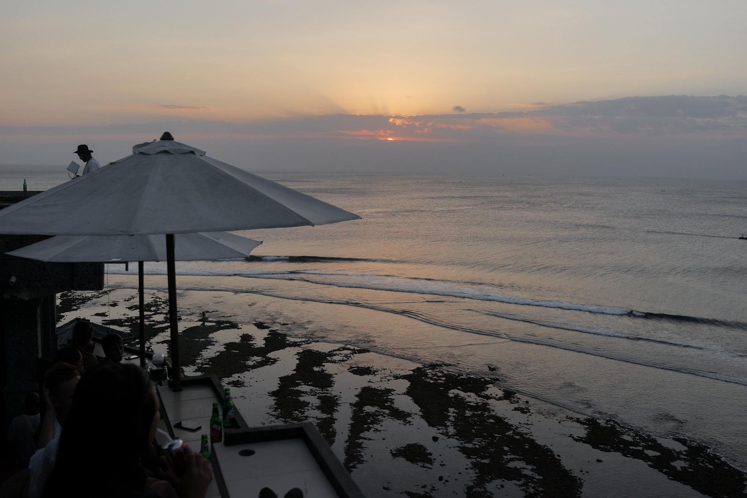 The best sunset view at not-quite-Single-Fin
