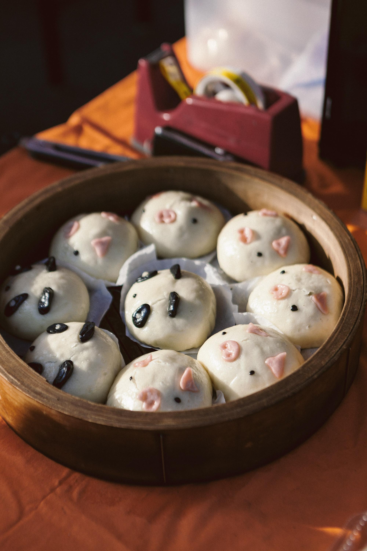 Baos and dumplings