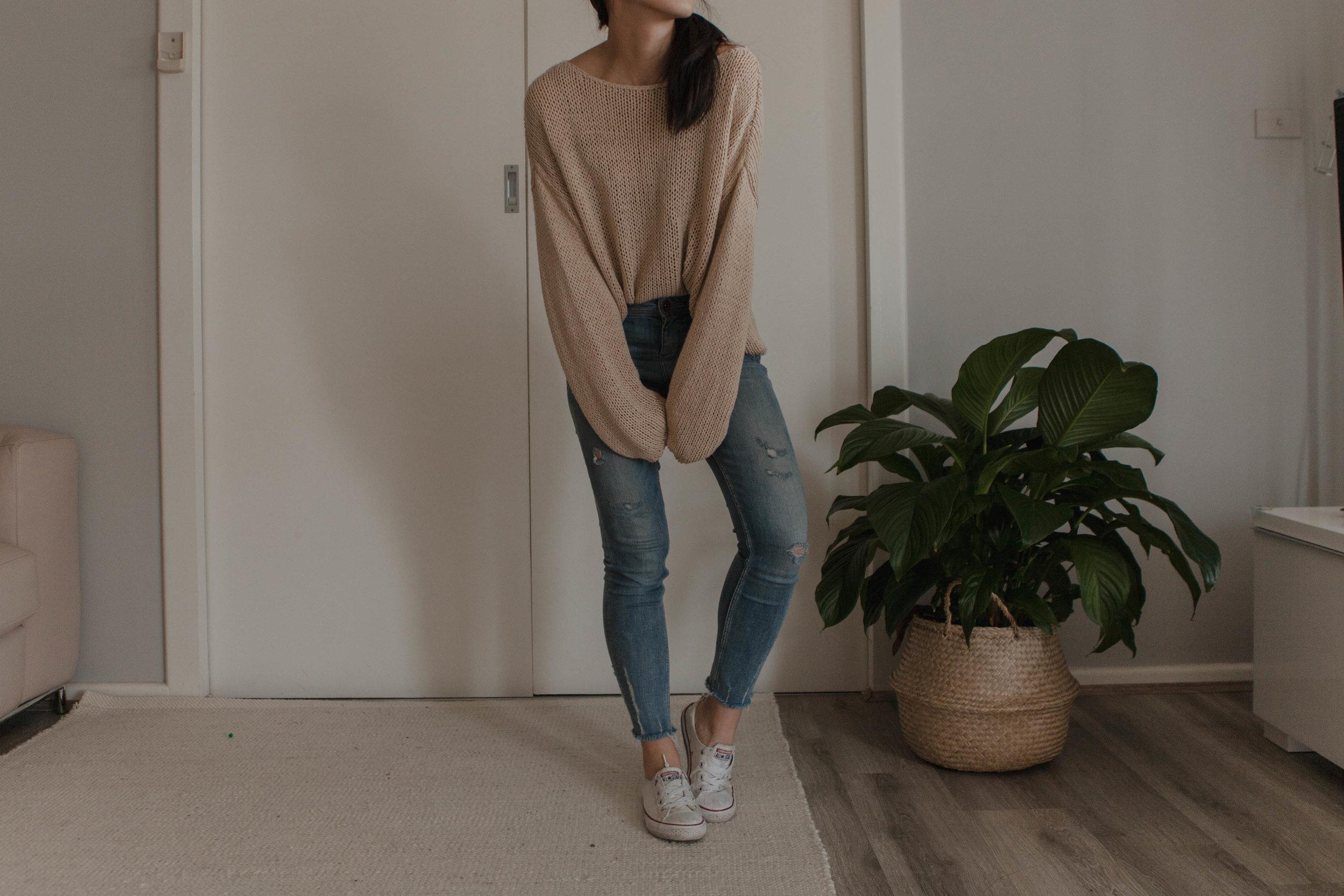 5. - oversized knit