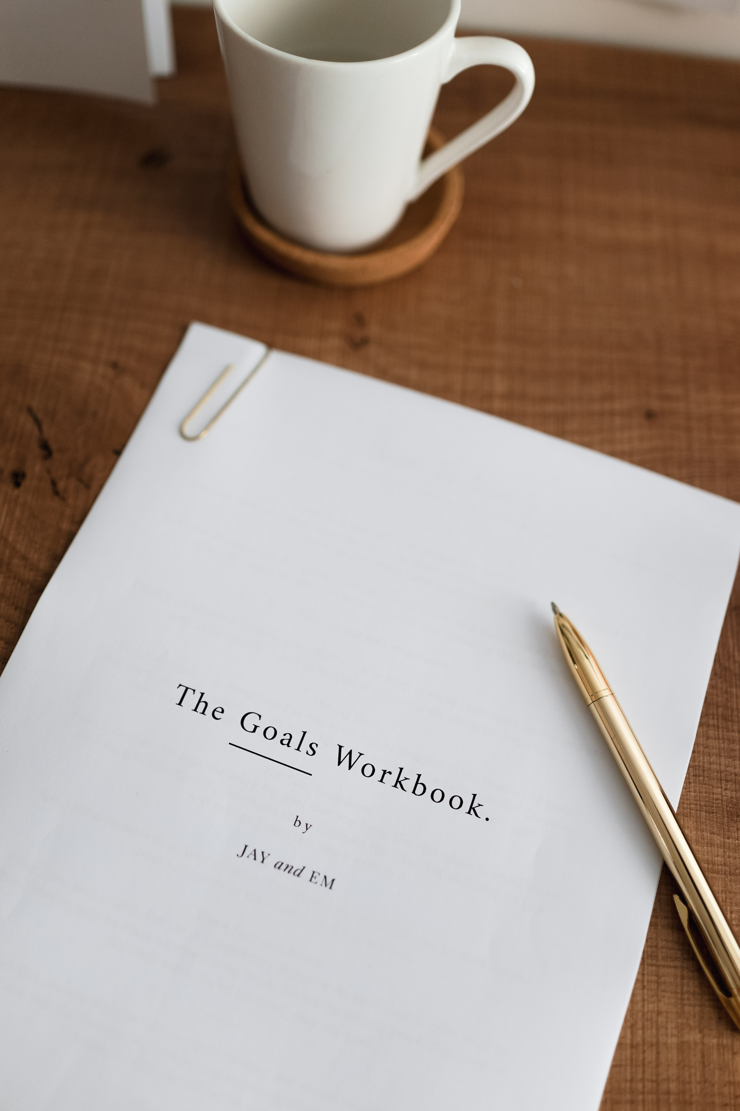 Click here to download The Goals Workbook.