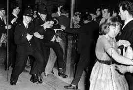 Either a riot or a killer sock hop.