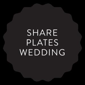 Share Plates Wedding