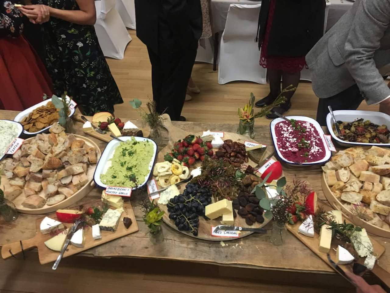melbourne wedding catering grazing table