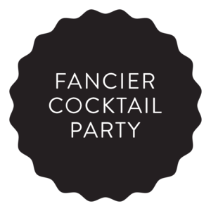 Fancier cocktail party wedding catering