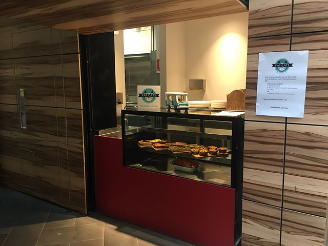 We're doing something a bit different this week and next - serving RMIT students across O week. Come and say hi if you're in the city - we are in building 12 opposite the merchandise shop, it's just up an escalator from Swanston St 😺 We are serving delicious quiches, salads and muffins - Ottelenghi inspired so packed with flavour!