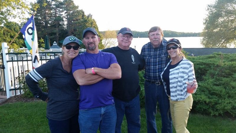 The #11 Crew—Brenda & Dan Rapp, Mike Caraway, George Hull and Pami Grasis