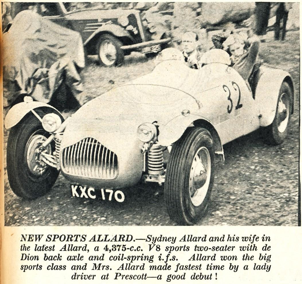 Motorsport Magazine, August 1949