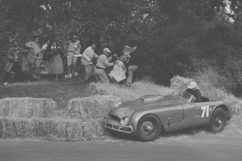Golden Gate Road Races Track action scene Car Number 71 an Allard J2X Le Mans Carl Block driver (helmet seated)_cropA.jpg
