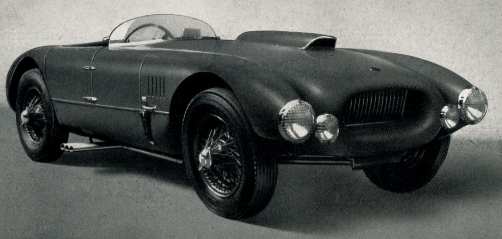 The Allard JR as designed by Dudley