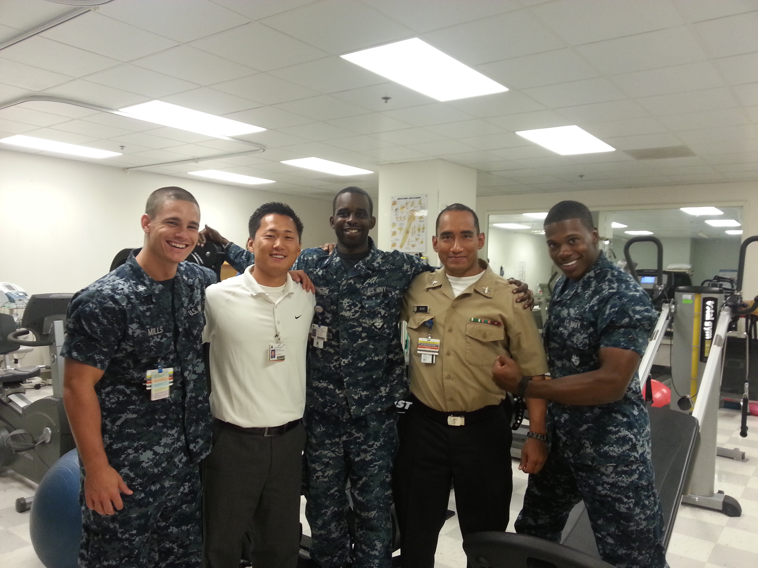 Physical Therapy, Naval Hospital,Lemoore, CA