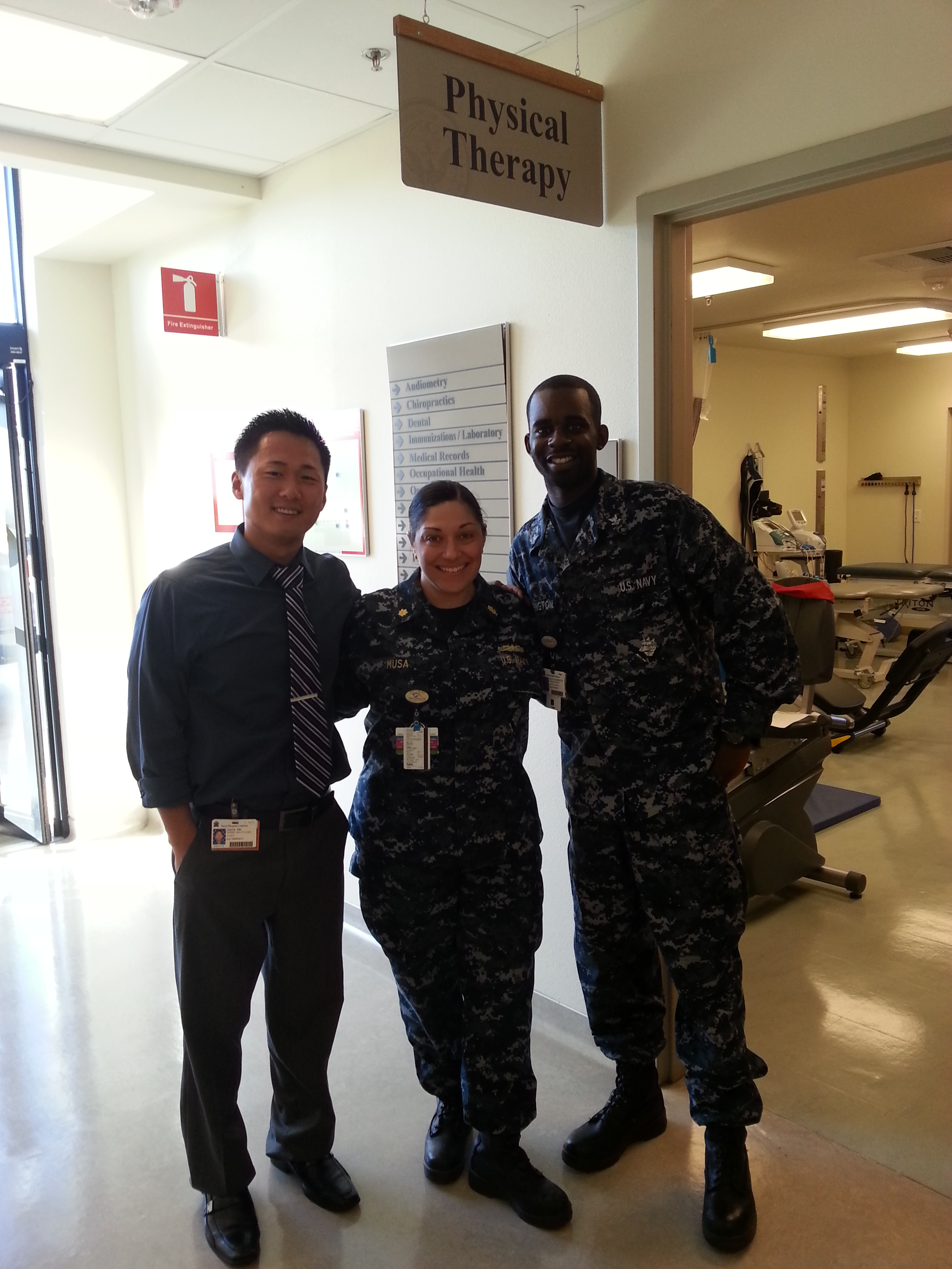 Physical Therapy, Naval Hospital, Lemoore, CA