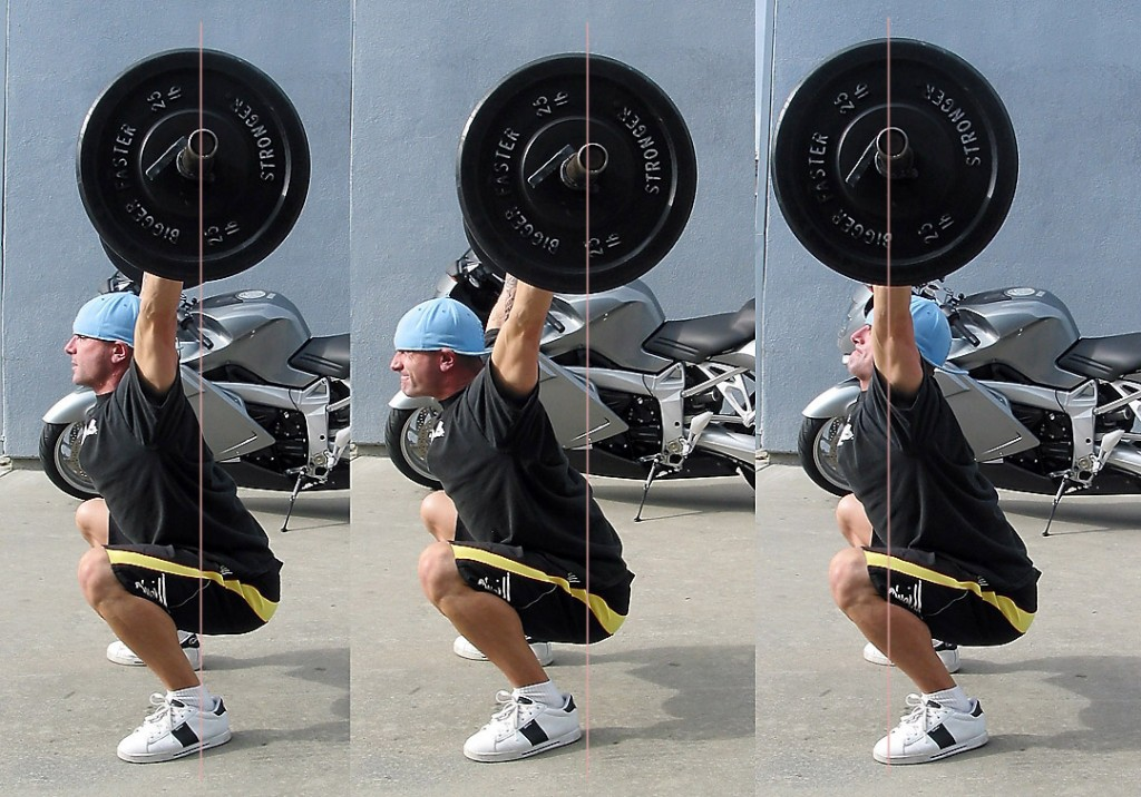 Which overhead squat do you want?
