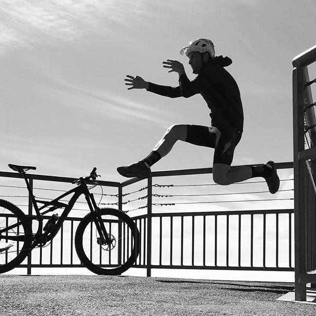 My best Bruce Lee impression #crouchingtigerhiddencyclist