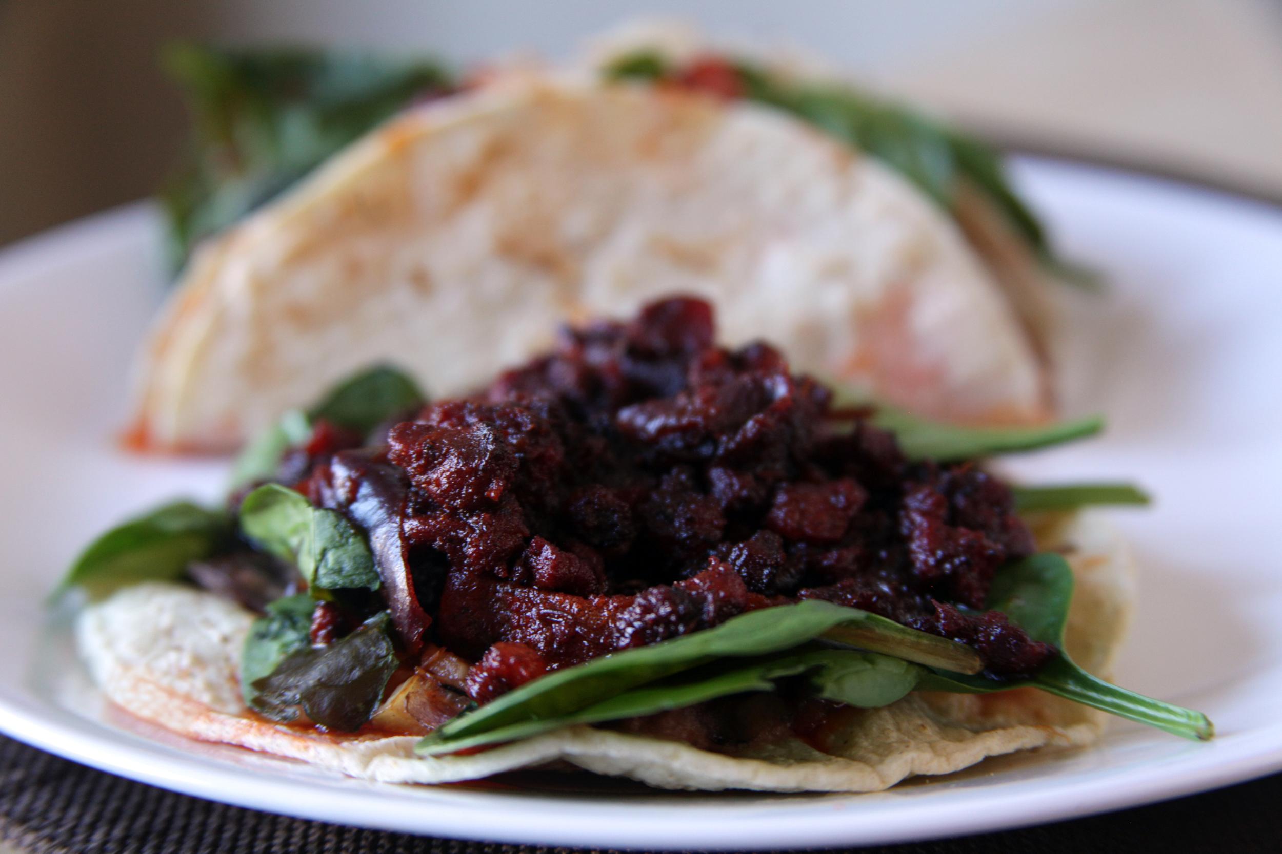 Goan Chorizo Tacos