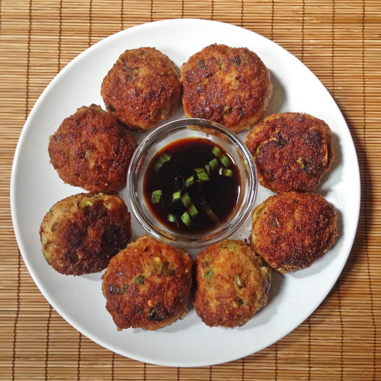 Scallion Pork Meatballs