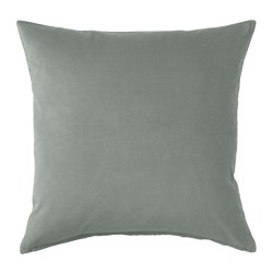 Grey Velvet Cushion I $10ea I Qty 2