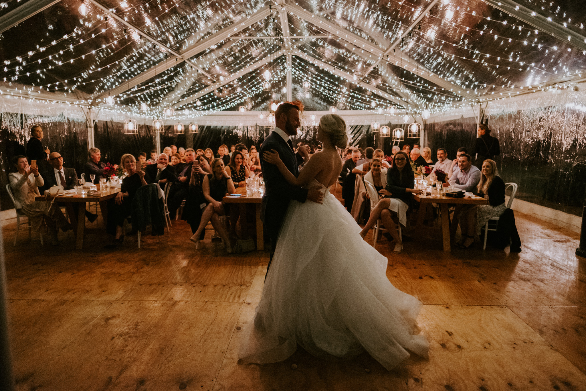 Fairy Light Marquee Treatment | from $1240 (360m) 18mx10m Marquee