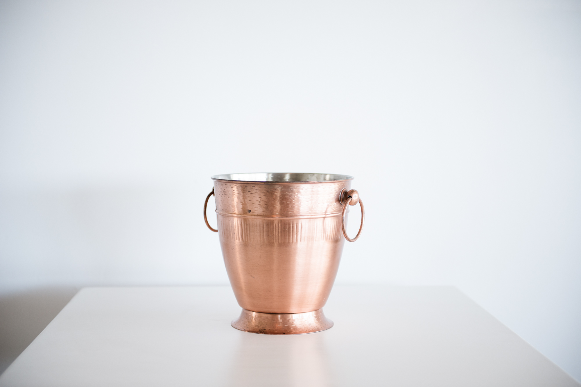 Rose Gold Champagne / ice Bucket | $15ea | Qty 2