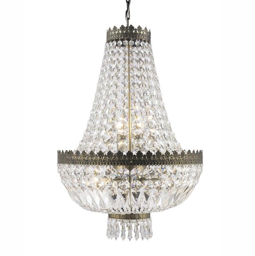 Crystal Glass Chandelier - Large I $130ea I Qty 1