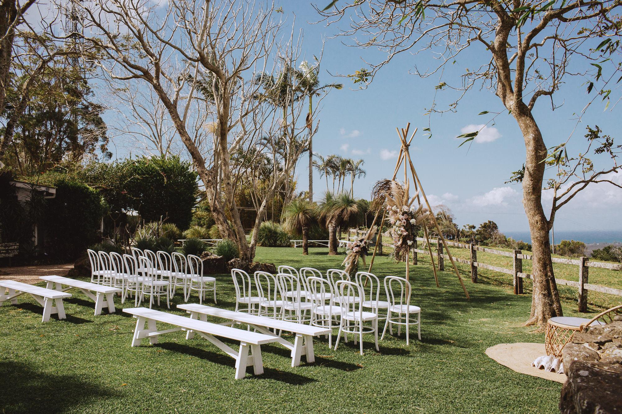 Venue - byronviewfarm | Planner - Elope | Florals - Bower Botanicals | Photo - Shane Shepherd Weddings