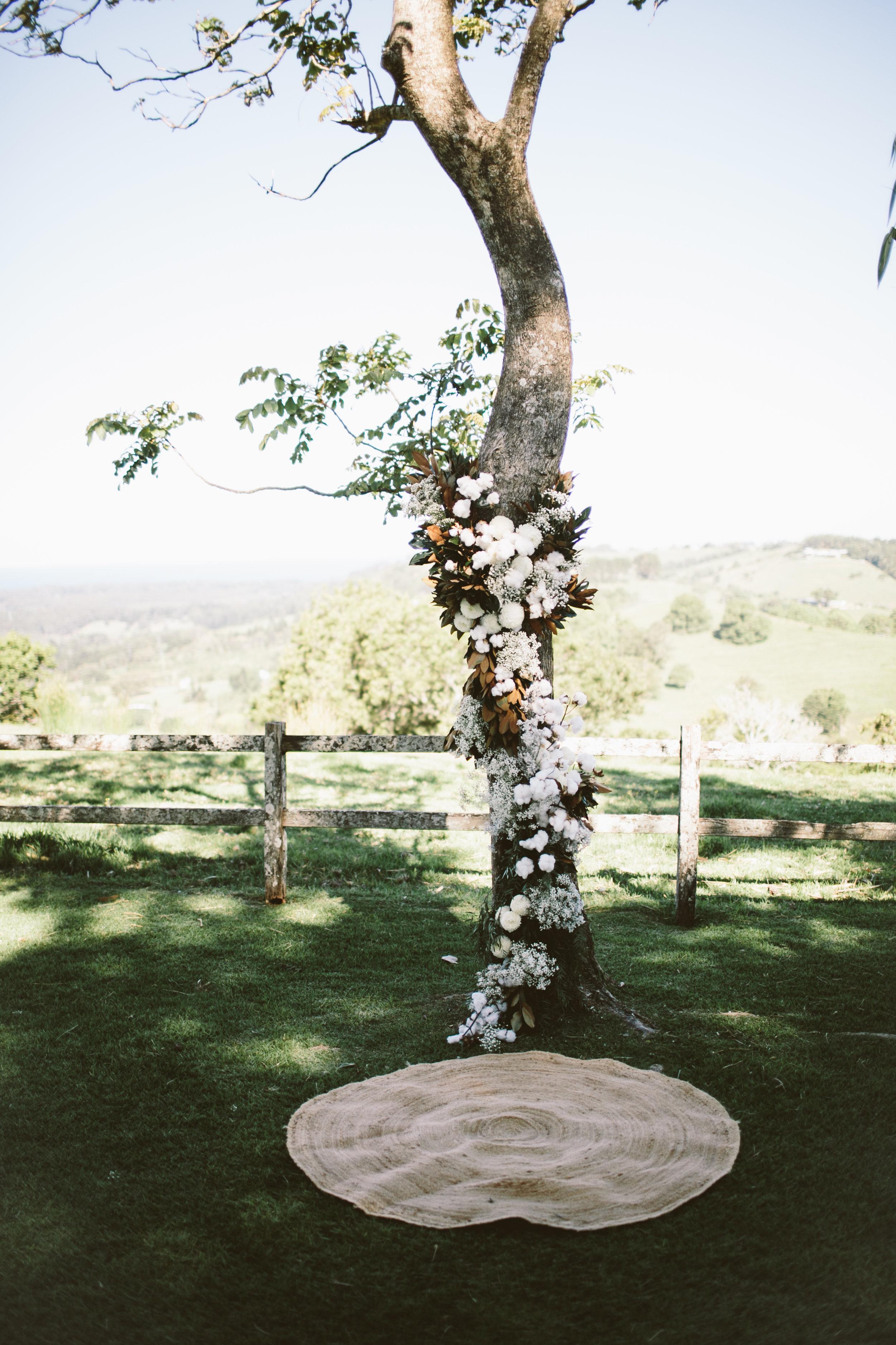 Venue - byronviewfarm | Planner - Elope | Florals - The French Petal