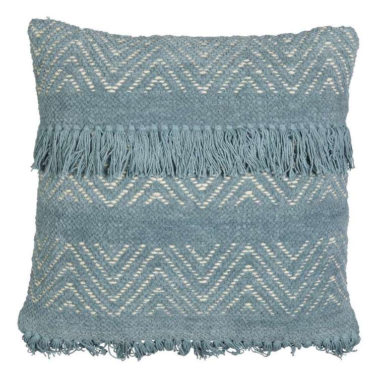 Seafoam Fringe Cushion I $7.50ea I Qty 4