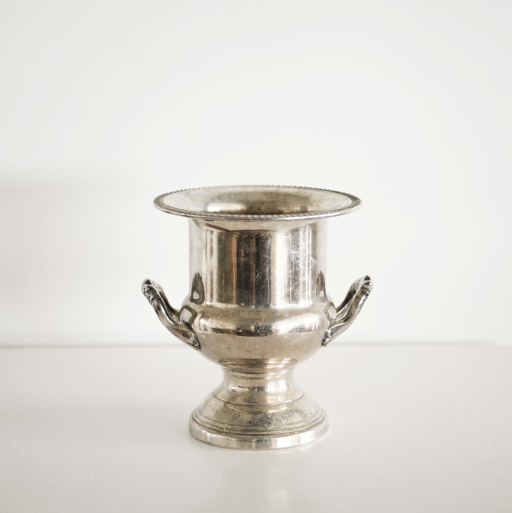 Vintage Silver Champagne/Ice Bucket   $ 15ea   Qty 2