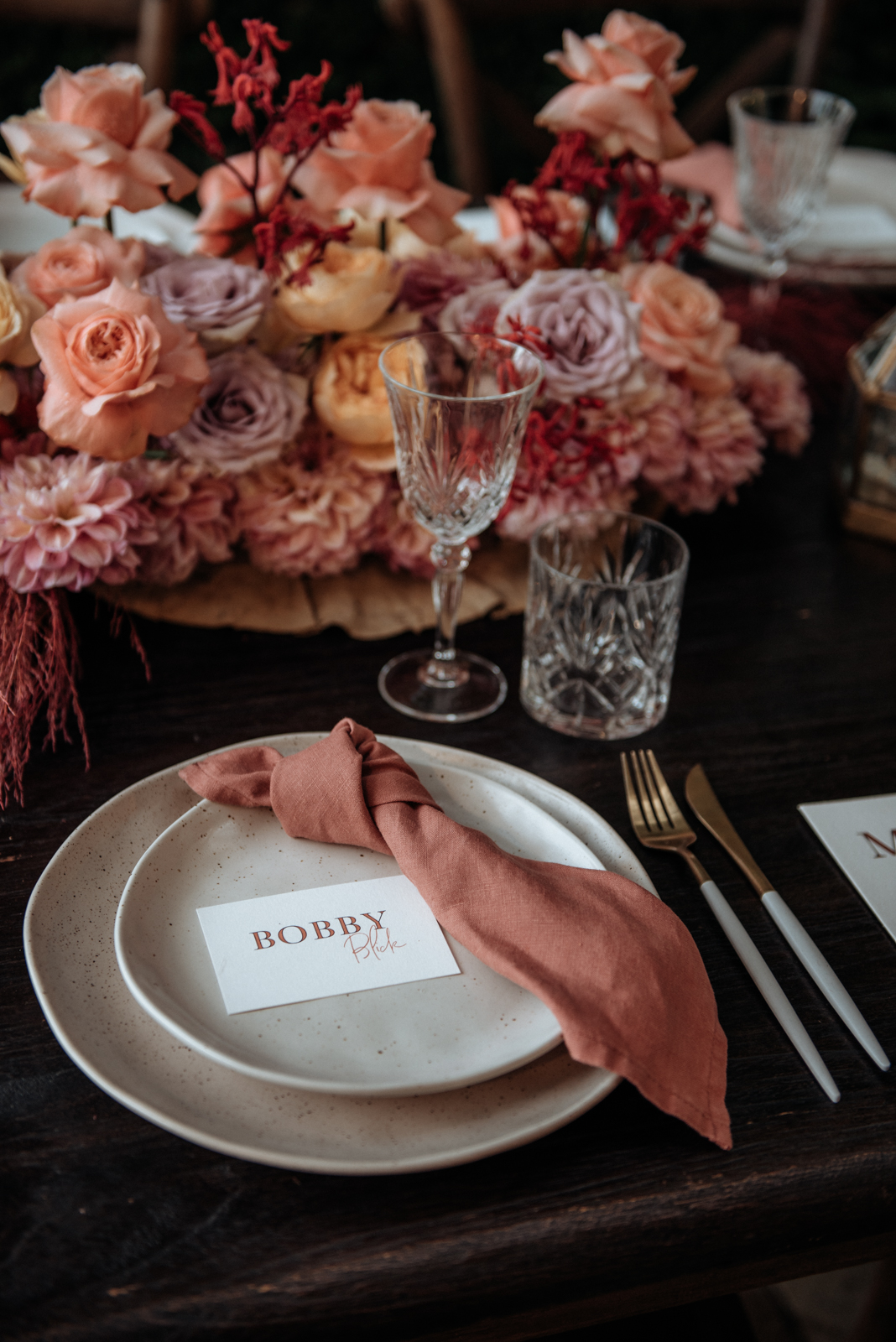 Florals - The French Petal   Venue - Victoria's   Photos - Captured By Inga